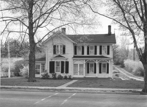 Nielsen House (Drug Fair Parking Lot)