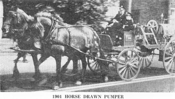 1901Horse Drawn Pumper