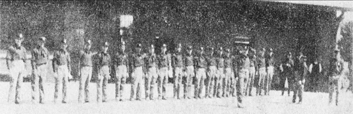 1910 Original Members of the OVFD