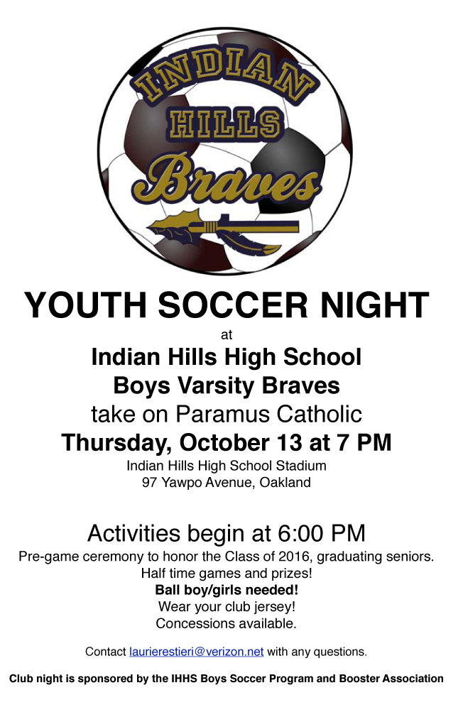 Youth Night flier 2016  for rec